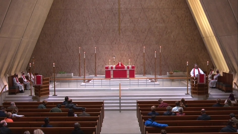 Thumbnail for entry Kramer Chapel Sermon - Wednesday, October 28, 2020