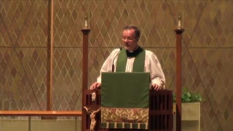 Thumbnail for entry Kramer Chapel Sermon - September 8, 2015