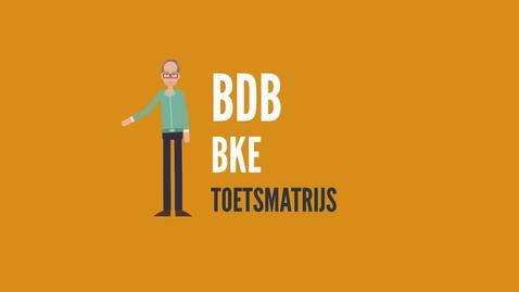 Thumbnail for entry Toetsmatrijs