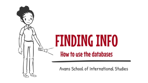 Thumbnail for entry 5. Finding info - How to use databases - ASIS