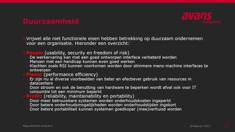 Thumbnail for entry 3 NFE en ISO25010 - diverse aspecten