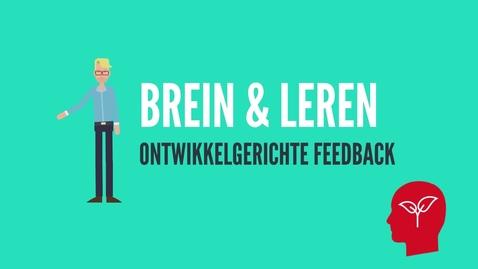 Thumbnail for entry Ontwikkelgerichte feedback