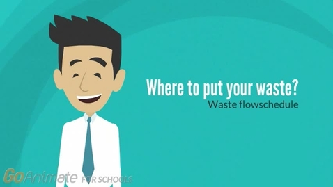 Thumbnail for entry Where to put your waste? Waste flowschedule