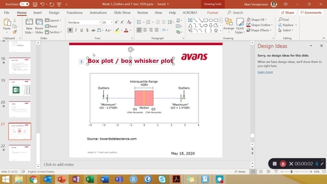 Thumbnail for entry Stat wk 5 -tutorial 4 - Box and whisker plot