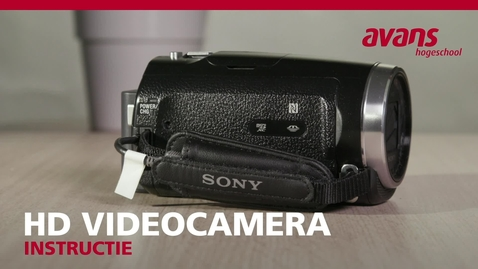 Thumbnail for entry HD Videocamera