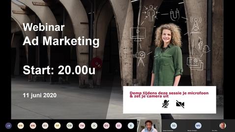 Thumbnail for entry Marketing - Associate degrees - Voltijd - Den Bosch