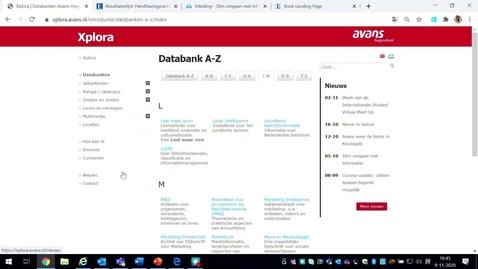 Thumbnail for entry Een boek zoeken van Wolters Kluwer in databank Navigator