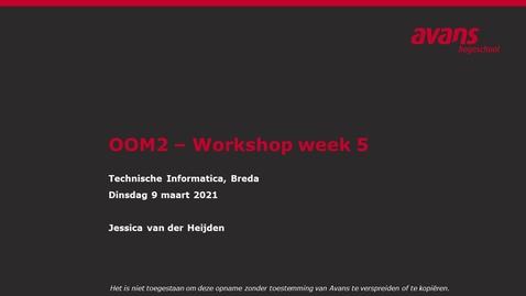 Thumbnail for entry OOM2 hoorles wk5 - Software Engineering