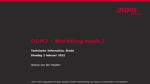 Thumbnail for entry OOM2 hoorles wk 1 - Overerving en polymorfisme