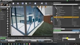 Thumbnail for entry VR Unreal Engine stap 6 Teleporteer vlakken definiëren