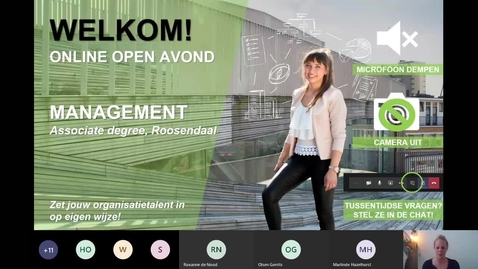 Thumbnail for entry Management - Associate degree - Voltijd - Roosendaal