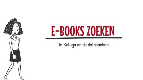 Thumbnail for entry Ebooks zoeken in Kaluga en de databanken