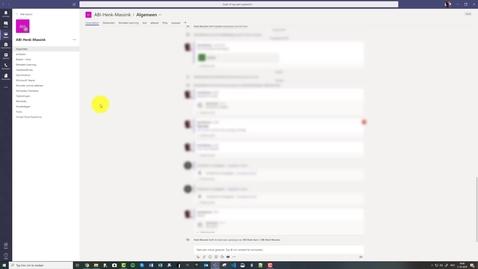 Thumbnail for entry Teams : Het gebruik van chats