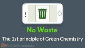 Thumbnail for entry No waste - The 1st principle of Green Chemistry