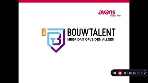 Thumbnail for entry Opleidingsfilmpje Civiele Techniek en Bouwkunde – Duaal – Den Bosch en Tilburg (Informatie BouwTalent Zuid)