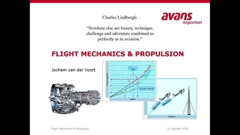 Thumbnail for entry Lecture 3 - Powered flight, Climb performance