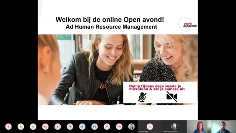 Thumbnail for entry Human Resource Management - Associate degree -  Voltijd - Den Bosch
