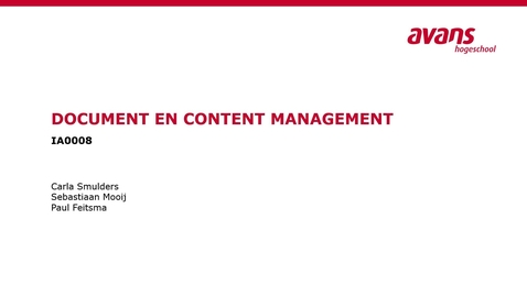 Thumbnail for entry Document en Content Management Col 3 Hashing