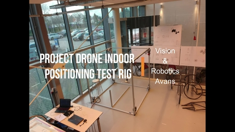 Thumbnail for entry F Drone Indoor Positioning Test Rig