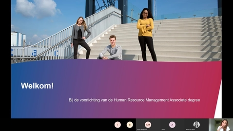 Thumbnail for entry Human Resource Management - Associate degree - voltijd - Roosendaal