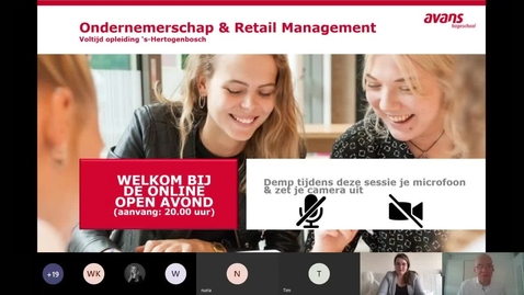 Thumbnail for entry Ondernemerschap & Retail Management  - Voltijd - Bachelor - Den Bosch