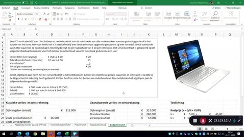 Thumbnail for entry Het budgetverschil