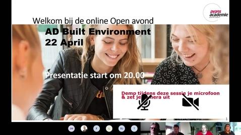 Thumbnail for entry Built Environment - Associate degree - Voltijd - Den Bosch