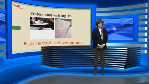 Thumbnail for entry Professional writing