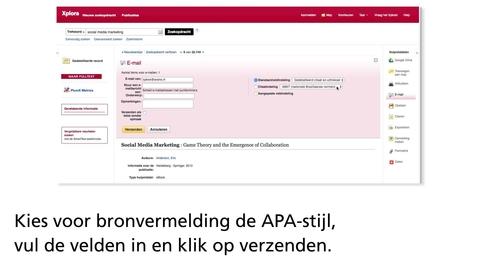 Thumbnail for entry Zoekresultaten exporteren, opslaan, emailen