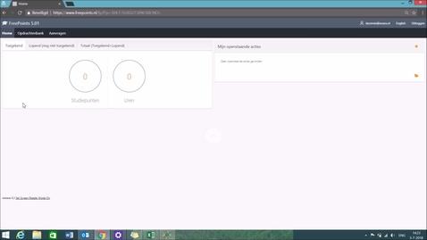 Thumbnail for entry Freepoints - Opdracht voortijdig afbreken