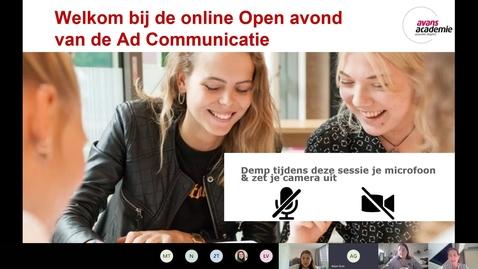 Thumbnail for entry Communicatie - Associate degree - Voltijd - Den Bosch