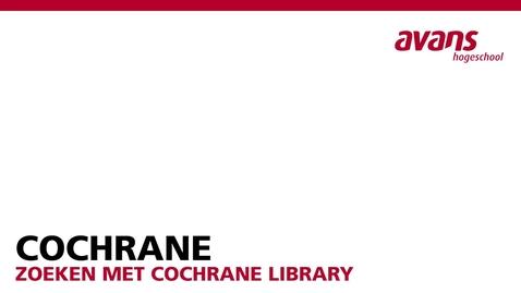 Thumbnail for entry Cochrane