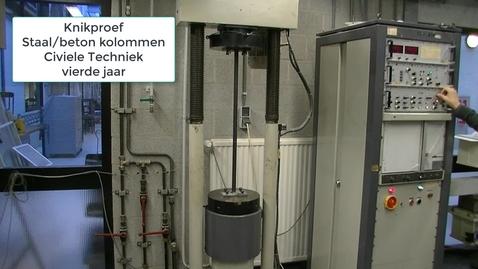 Thumbnail for entry CT BI_CON2 knikproef staal beton kolom