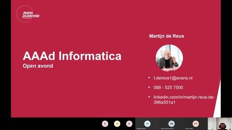 Thumbnail for entry Informatica  – Associate degree - Voltijd – Den Bosch