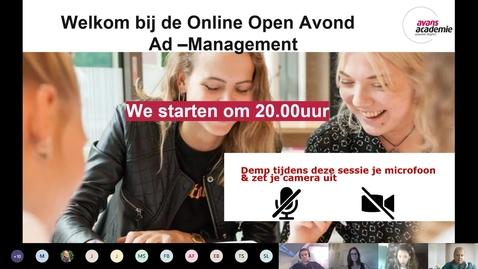 Thumbnail for entry Management - Associate degree - Voltijd - Den Bosch