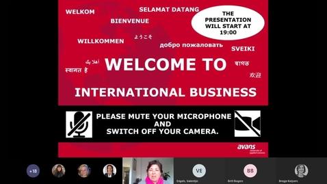 Thumbnail for entry International Business  - Bachelor degree - Voltijd - Breda