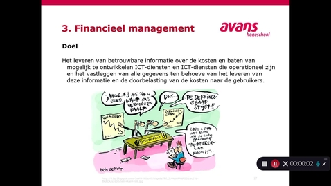 Thumbnail for entry ITIL Financieel management