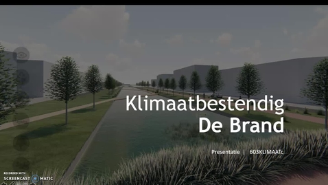 Thumbnail for entry Eindpresentatie MD-Klimaat projectgroep C (Luc van de Weijer)