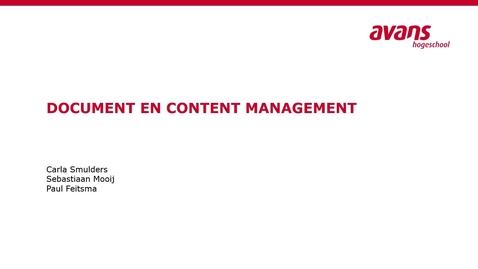 Thumbnail for entry Document Management Col 1 ECM