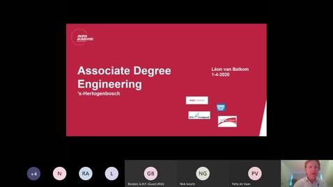Thumbnail for entry Engineering - Associate degree - Voltijd - Den Bosch