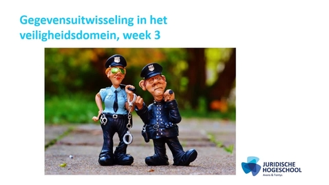 Thumbnail for entry Gegevensuitwisseling kennisclip 3: De politie en gegevensuitwisseling