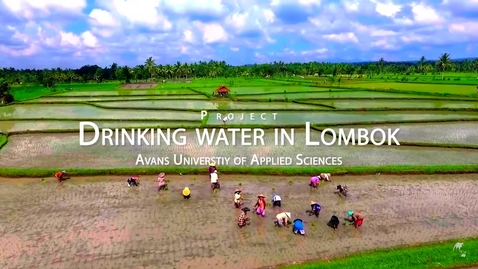 Thumbnail for entry Drinking water in Lombok