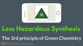 Thumbnail for entry Less hazardous synthesis - The 3rd principle of Green Chemistry