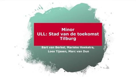 Thumbnail for entry Ingekorte introductiefilm Minor ULL Stad van de Toekomst
