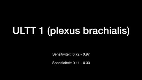 Thumbnail for entry ULTT 1 Plexus Brachialis