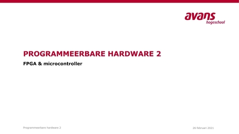 Thumbnail for entry 4.1 FPGA & Microcontroller