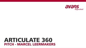 Thumbnail for entry Articulate 360 - Marcel Leermakers