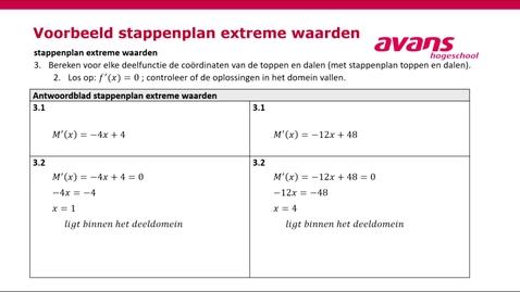 Thumbnail for entry BI-TWBO3 - voorbeeld berekenen extreme waarden
