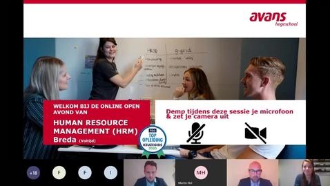 Thumbnail for entry Human Resource Management Breda Webinar 2