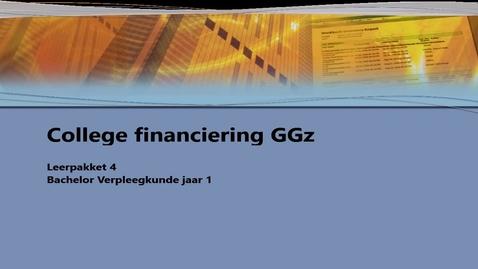 Thumbnail for entry College Financiering GGz
